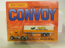 Matchbox Convoy CY5 Peterbilt Conventional Covered Truck   Un-Punched Card MOMC