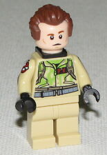 Lego New Ghost Busters Dr. Peter Venkman Minifigure From Set 75827 Firehouse