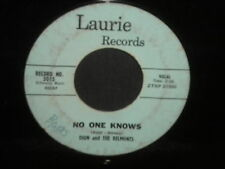 """Dion and The Belmonts """"No One KNows/I Can't Go On (Rosalie)"""" 45"""