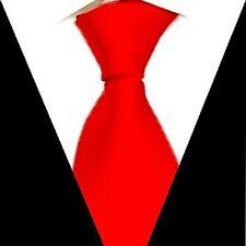 D.berite Red Men's Formal Wedding Groom Neck Tie 100% Silk Handmade Necktie S12
