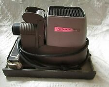 Vintage Bell &  Howell 750 Specialist Film Projector & Extra Bulb, Estate Find