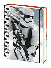 Official Star Wars A5 Stormtrooper Notepad Notebook Episode VII 7 Film Gift