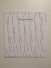 Francois Morellet. vista private invito CARD, Annely Juda Galleria, 2016