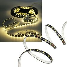 (9,99€/m) 10m SMD Led Leiste Strip WARMWEIß flexibel 12V 600 SMDs / Leds Stripe