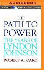 The Path to Power 1 by Robert A. Caro (2014, MP3 CD, Unabridged)