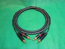 Mogami W2930,  2 Channel 26AWG Multicore  Snake Cable W/ Neutrik Gold RCA, 3 Ft.