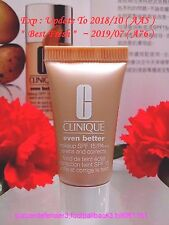 "CLINIQUE Even Better Makeup SPF15 PA++ #63 Fresh Beige (F-G) ◆7ML◆ ""POST FREE""!"