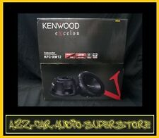 "NEW KENWOOD EXCELON KFC-XW12 KFCXW12 12"" 4-OHM CAR SUBWOOFER W WARRANTY  AWESOME"