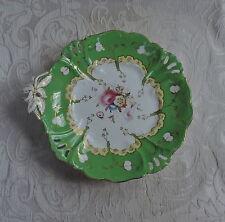 Mid 19th Century Rockingham Porcelain Dessert Stand  Vassoio alzata per dolci