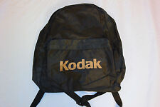 Vtg KODAK Backpack 80s/90s Photographer Deadstock ? Black Gold Lettering