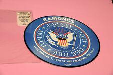 RAMONES LP PICTURE DISC LIVE PALLADIUM ORIG ITALY 2004 EX++ TOP RARE COLLECTORS