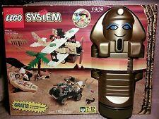 Lego Adventurers Set 5909 Treasure Raiders Set Mummy Storage SPANISH Sealed