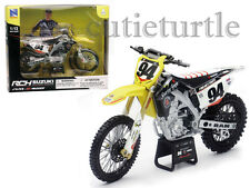 New Ray Suzuki RM-Z450 Dirt Bike Motorcycle 1:12 #94 Ken Roczen Yellow 57747