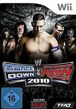Nintendo Wii +Wii U SMACKDOWN VS RAW 2010 * DEUTSCH  Top Zustand
