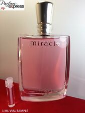 Lancome Miracle Eau de Parfum for Her 1 ml Glass Vial SAMPLE