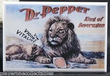 "Dr. Pepper - 2"" X 3"" Fridge / Locker Magnet. Vintage Soda Pop Advertising"