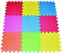 Toddler Play Area Puzzle Tile Mat Foam Playmat Kids Safety Baby Room Floor Soft