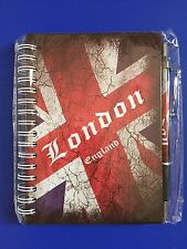 LONDON NOTE PAD DIARY WITH LONDON PEN BRITISH ENGLAND UK SOUVENIR GIFT