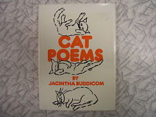 Cat Poems by Jacintha Buddicom 1973 1st Edition Illustrated