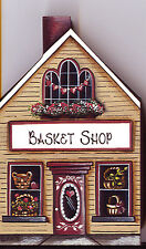 Brandywine Collectible Houses & Shops: Basket Shop Country Store Shelf Sitter