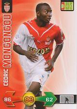 CEDRIC MONGONGOU # CONGO AS.MONACO TRADING CARDS ADRENALYN PANINI FOOT 2010