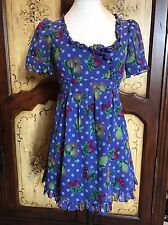 Betsey Johnson Baby Doll Fruit Dress