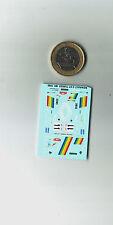 decals decalcomanie deco pour pour renault r5 gt  turbo monte carlo 1990 1/87