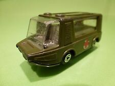 MIRA MINI 127 STRETCHA FETCHA - MILITARY AMBULANCE - ARMY GREEN - EXTREMELY RARE