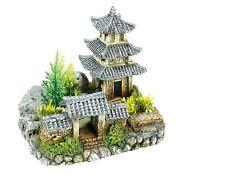 Classic Asian Temple & Garden Aquarium Ornament Fish Tank Decoration