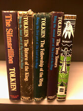 J. R. R. Tolkien - The Lord Of The Rings,The Hobbit + The Silmarillion - 5 Books