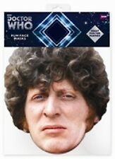 Tom Baker Doctor Dr Who Official Single Card Party Face Mask - Great for parties
