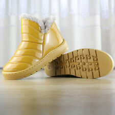 Winter Warm Women's Casual Snow Boots waterproof low-tube Flats cotton Shoes
