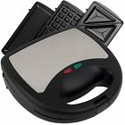 Chef Buddy 3 in 1 Sandwich Panini and Waffle Press by Chef Buddy 80-SM15 NEW...