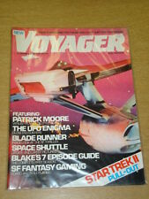 VOYAGER #1 1982 AUTUMN VG MODEL AND ALLIED UK MAGAZINE STAR TREK BLAKES 7 US