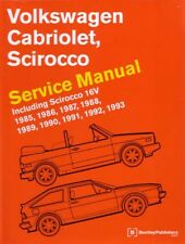 1985 1987 1989 1993 Volkswagen Cabriolet Scirocco Shop Service Repair Manual