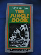Rudyard Kipling's The Jungle Book Sabu, Rosemary De Camp Movie VHS Tape