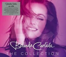 BELINDA CARLISLE THE COLLECTION CD & DVD ALL REGIONS NTSC NEW