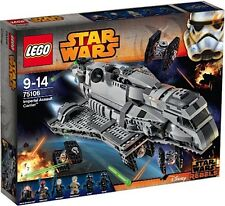 LEGO 75106 STAR WARS IMPERIAL ASSAULT CARRIER GUERRE STELLARI NUOVO NEW