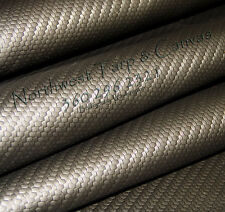 """Carbon Fiber Material, Black, 54"""" Width, Sold ByThe Yard - Shipped from The USA!"""