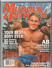 MUSCLE & FITNESS bodybuilding magazine/Jay Cutler 3-97
