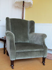 Armchairs Antique Victorian - Pair of Lady and Gentleman Chairs