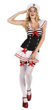 Boland Official Womens Sexy Naughty Complete Fancy Dress Sailor Halloween Outfit