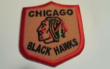 """Chicago Blackhawks Vintage Embroidered Iron On Patch Awesome  Patch 3"""" x 2.5"""" A1"""
