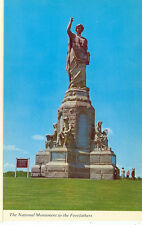 PLYMOUTH,MASSACHUSETTS-NATIONAL MONUMENT-THE FOREFATHERS-(STATUE-293)