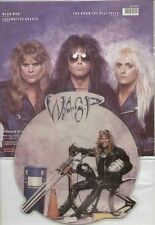 EXCELLENT! WASP - MEAN MAN 3 TRACK VINYL SHAPED PIC PICTURE DISC  W.A.S.P.