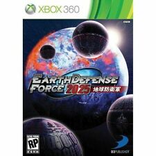 X360 ACTION-EARTH DEFENSE FORCE 2025 X3  GAME NEW