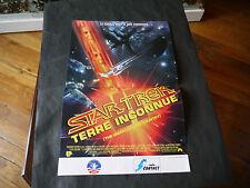 AFFICHE DE CINEMA STAR TREK TERRE INCONNUE 50X33