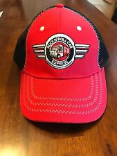 ROCK N' ROLL EXPRESS SNAP-ON TOOLS HAT RED AND BLACK ADJUSTABLE NEW