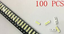 100pcs LED TV Screen Repair Backlight Lamp Beads Cold White LG 0.5W 3V 7020 40LM