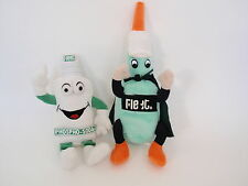 Fleet Enema EneMan & Phospho Soda Guy Stuffed Plush Bean Bottom Toys Dolls 2